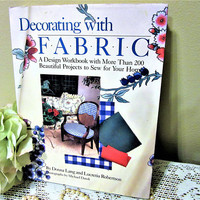 Book How To Decorating Projects for Sewing with Fabric Hard Cover by Donna Lang Lucretia Robertson
