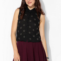 Coincidence & Chance Medallion Sleeveless Blouse - Urban Outfitters