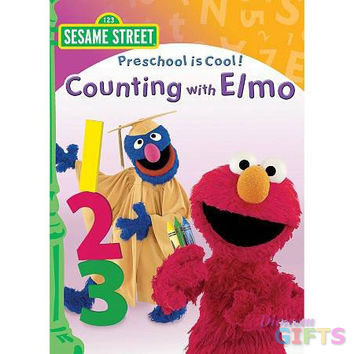 PRESCHOOL IS COOL:COUNTING WITH ELMO