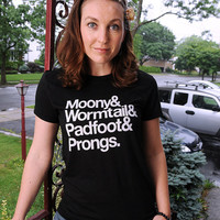 Marauder's Tee Women's American Apparel fitted tee by evietees