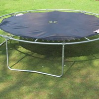 Outdoor Trampoline Assembly