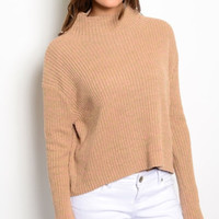 Bailey Taupe Knitted Sweater