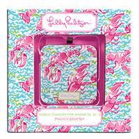 Lilly Pulitzer iPhone 5 Mobile Charger with Lid | Lifeguard Press