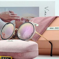 MIUMIU simple and wild fashion goddess true color sunglasses F-A-SDYJ NO.1