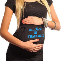 Fitness Maternity T-Shirt Mother In Training