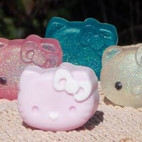 Hello Kitty solid or Glitter Soap