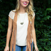 Another Rodeo Vest - Camel