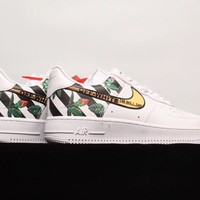 Free Shipping Off-White x Nike Air Force 1 OW Basketball Sneaker