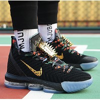 Nike LeBron 16 LBJ16 Hot Sale Men Casual Sport Basketball Shoes Sneakers