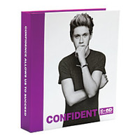 One Direction Limited Edition 1D OD Together Round Ring Binder Niall Confident Purple by Office Depot