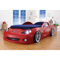 Walmart: Step2 - Corvette Convertible Toddler to Twin Bed with Lights, Red