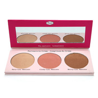 the Balm cosmetic The Manizer Sisters Luminizer Collection Palette  Face Pressed Powder Mary-Lou Betty-Lou Cindy-Lou  Powder