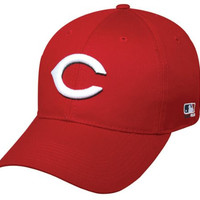 Cincinnati Reds YOUTH (Ages Under 12) Adjustable Hat MLB Officially Licensed Major League Baseball Replica Ball Cap