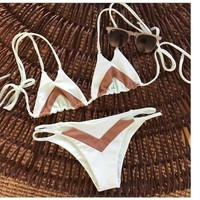 Swimsuit New Arrival Hot Summer Beach Swimwear Ladies Patchwork Sexy Bikini [11716827151]