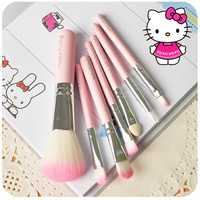 Hello Kitty Makeup Brush Kit