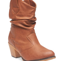 Slouchy Cowboy Boots | Wet Seal