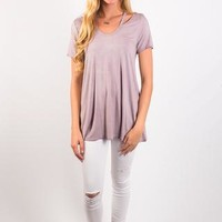 Tainted Love Top - Lavender