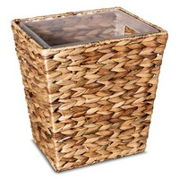 Threshold Wastebasket Light Weave