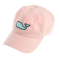 Womens Hats: Polka Dot Whale Baseball Hat – Vineyard Vines