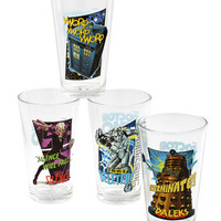 Sci-fi Doctor Your Dinner Party Glass Set by ModCloth