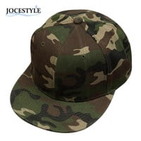Brand New Camouflage Snapback Adjustable Hats Camo Baseball Caps Hip-Hop Cap Fashion Baseball Backstrap Cap Hat For Men Women
