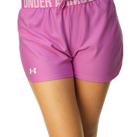 Under Armour Women's Heatgear Semi-Fitted Play Up Shorts