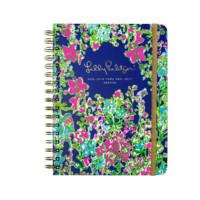 Lilly Pulitzer Large 17 Month Agenda-Southern Charm