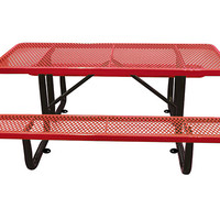 Planet Playgrounds Metal Picnic Table