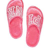 Velvet Slippers - PINK - Victoria's Secret