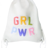 GRL PWR mesh backpack