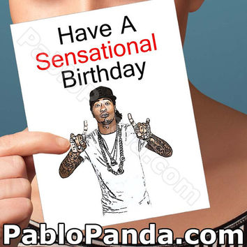 Funny Birthday Card | Future Card | Sarcastic Card Future Looks Bright Card For Girlfriend Sensational  21St Birthday Hip Hop Invitations