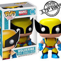 Wolverine Pop Heroes Bobble-Head Vinyl Figure