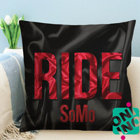 SoMo Ride Zippered Pillow Case, Cushion Case, Pillow case