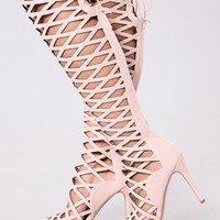 Fences Heel - Pink