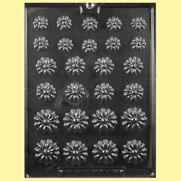 Daisy Assortment Chocolate Mold