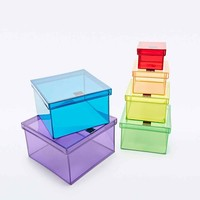 Rainbow Storage Boxes - Urban Outfitters
