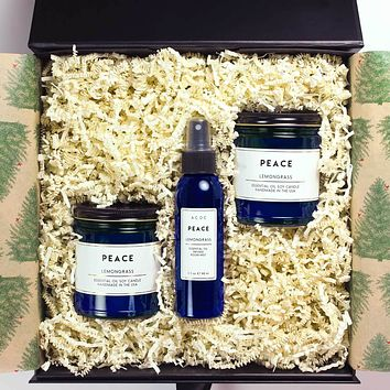 Apothecary 3 Piece Room Fragrance Gift Box