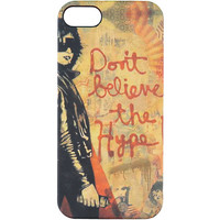 Obey Don't Believe The Hype iPhone 5 Case at Zumiez : PDP