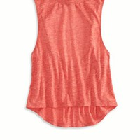 AEO Women's Twisted Back Muscle Tank