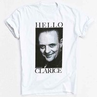 Silence Of The Lambs Hello Clarice Tee