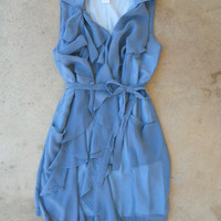 Super Soft Ruffle Dress [3708] - $47.00 : Vintage Inspired Clothing & Affordable Fall Frocks, deloom | Modern. Vintage. Crafted.