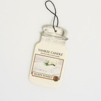 Fluffy Towels Paper Car Jar Air Freshener by Yankee Candle