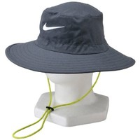 Nike GOLF SUN BUCKET BLACK HEATHER/WHITE L/XL