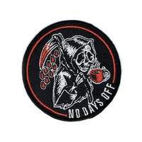 No Days Off Patch