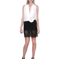 Lace Trimmed Short Pencil Skirt – The Snooki Shop
