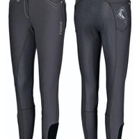 Pikeur Piana Grip Full Seat Breech - Dark Shadow