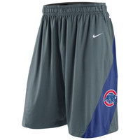 Nike Chicago Cubs 2014 Training Performance Shorts - Gray