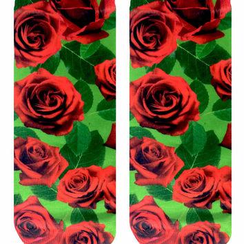Roses Ankle Socks