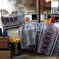 Aztec Navajo 3 PC Quilt Bedding Bed Collection