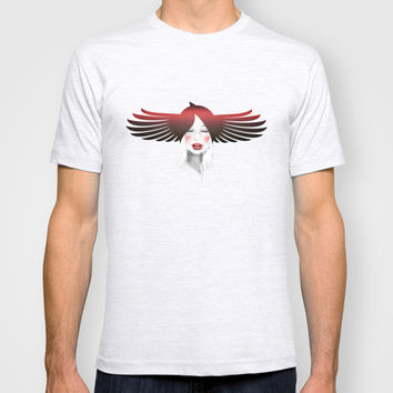 MonGhostX - Close, Fly, dreams... of a free world ! Peace. T-shirt by LilaVert